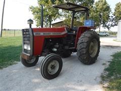 1988 Massey Ferguson 283 2WD Tractor