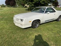 1983 Chevrolet El Camino Super Sport Pickup