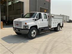 2008 GMC C7500 Crew Cab Service/Utility Truck