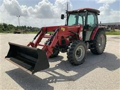 Mahindra 85P 4WD Compact Utility Tractor W/Loader