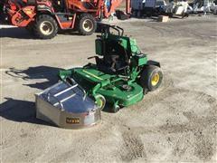 John Deere 667 Zero-Turn Stand-On Mower W/Grass Catcher