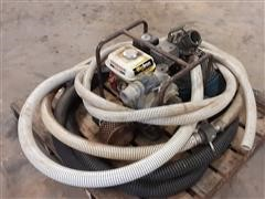 Honda GX160 Water Pump & Hoses
