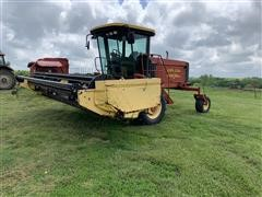 2001 New Holland HW 320 16' Self-Propelled Windrower