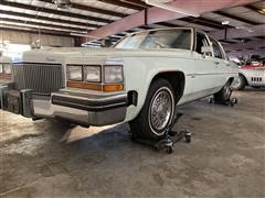 1980 Cadillac Sedan DeVille 2 Dr Diesel
