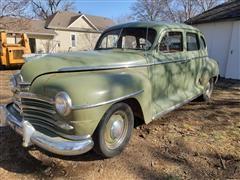 1947 Plymouth Special Deluxe Sedan