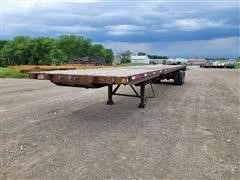 2008 Fontaine TP-4-4880SLW T/A Flatbed Trailer