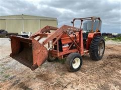 1980 Allis-Chalmers 5040 2WD Tractor W/Loader Bucket (INOPERABLE)