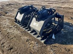 2020 Suihe 6' Wide Brush Grapple Skid Steer Attachment
