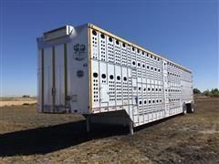 2003 Merritt T/A Livestock Trailer