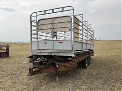 2000 Homemade Cattle Scale W/Custom Tri/A Transport Trailer
