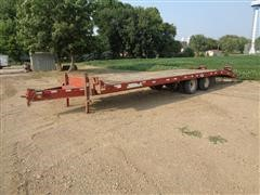 2006 TowMaster T-20 T/A Flatbed Trailer