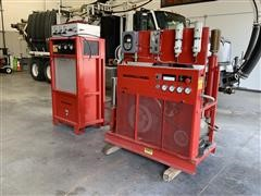 1994 Ingersoll Rand BAP20TH3 Breathing Air Compressor & Refill System