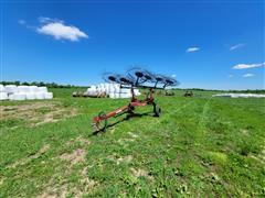 Tonutti TCR10 Pro 10-Wheel Hay Rake