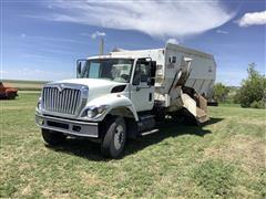 2008 International 7400 SFA Feed Truck W/Harsh Feed Box
