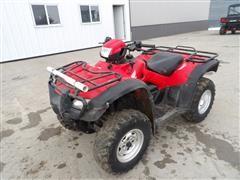 2012 Honda Foreman Rubicon TRX500FPA All Terrain ATV