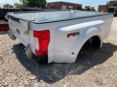 2019 Ford F550 4x4 Off Road Pickup Box w/ Bumper