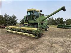 John Deere 6600 2WD Combine W/Wheat Head