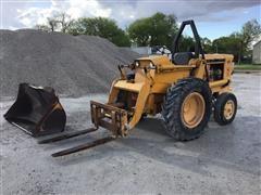 Case W5AG Rough Terrain Forklift/Loader