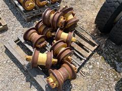 John Deere 850K Track Undercarriage Bogie Wheels