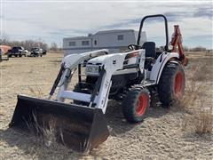 2013 Bobcat CT445**B Compact Tractor W/Loader Bucket & Backhoe