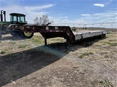 2001 Muv-All 54' T/A Drop Deck Flatbed Trailer