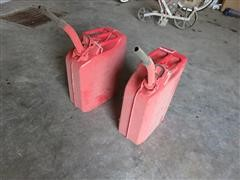 Jerry Unused Fuel/Water Containers