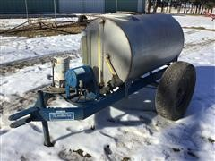 Northern Pump & Irrigation Chemigation Unit On Cart