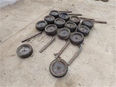 Case IH 183 Gauge Wheel Assemblies