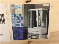 2020 Pure Steam And Bath Deluxe Jacuzzi Shower Shower