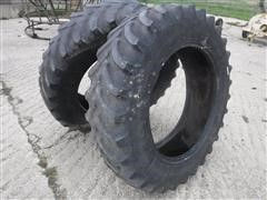 Firestone Radial All Traction FWD 380/85R34 Bar Tires