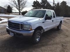 2003 Ford F250XLT Super Duty 4x4 Extended Cab Pickup