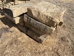 Ruff Back Natural Stone Steps