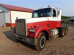 1987 White WCM64T T/A Day Cab Truck Tractor