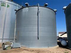 Circle 15,000 Bushel Grain Bin