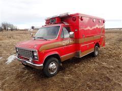 1981 Ford E350 Ambulance