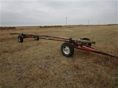 Vistron 4 Wheel Trailer Converted To Header Trailer