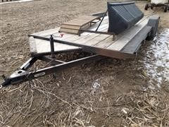 2003 S&W UT20-7 T/A Flatbed Trailer