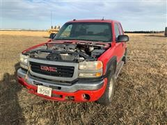 2005 GMC Sierra K2500 4x4 Crew Cab & Chassis