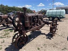 1937 International F20 2WD Tractor