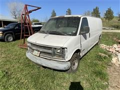 1998 Chevrolet 3500 Cargo Van
