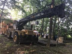 P&H Omega 20-Ton 4x4x4 Rough Terrain Crane