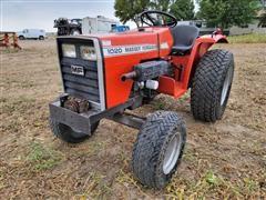 1983 Massey Ferguson MF1020 Compact Utility Tractor