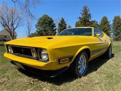 1973 Ford Mustang Mach I Cobra Jet 2 Door Muscle Car