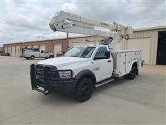 2013 RAM 5500 4x4 Bucket Truck W/Terex Hi-Ranger