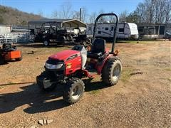 2012 Mahindra Max 28XL Shuttle 4WD Sub-Compact Utility Tractor