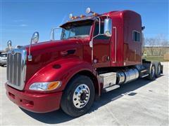 2014 Peterbilt 386 T/A Truck Tractor