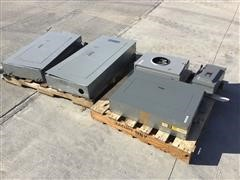 3-Phase Electrical Panelboards, Meter, & Safety Switch