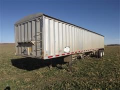 1979 Hawkeye Eagle T/A Aluminum Grain Trailer
