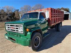 1974 GMC C6000 S/A Grain Truck