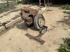 David Bradley Multipurpose Self Propelled Garden Tractor